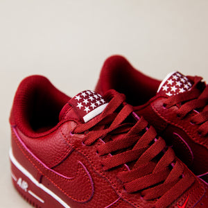 Nike Air Force Low Red - Game Over Shop