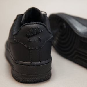 Nike Air Force Low Triple  Black - Game Over Shop