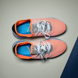 Adidas Deerupt Runner Orange White - Game Over Shop