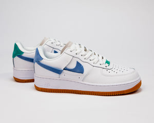 Nike Air Force Low White Blue - Game Over Shop