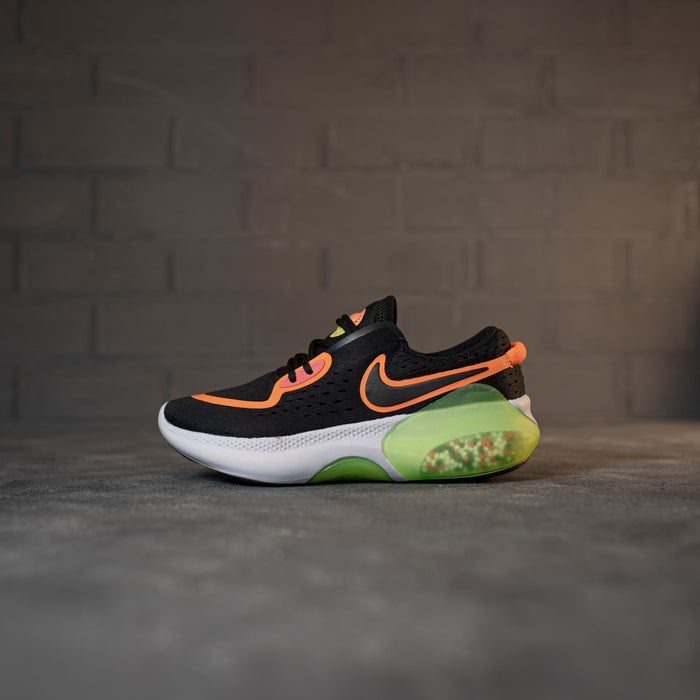 Nike Joyride Run Flyknit Black White Orange White