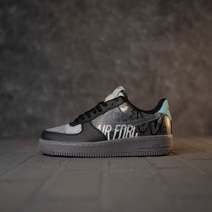 Nike Air Force 1 Black Jean