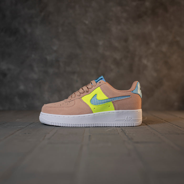 Nike Air Force 1'07 LV8 Pink/Flourescent Green/Blue