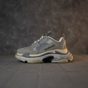 Balenciaga Triple S Grey White