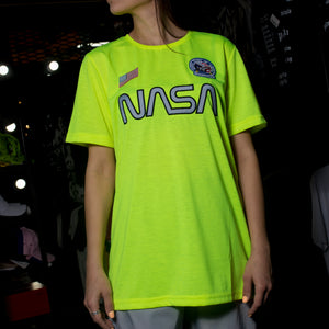 Футболка NASA Flag Green - Game Over Shop