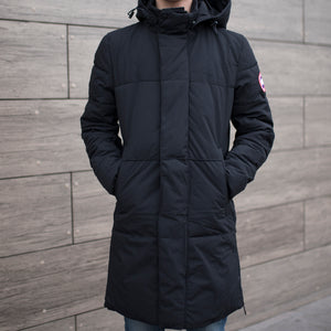 Куртка зимняя Canada Goose Long dark blue - Game Over Shop