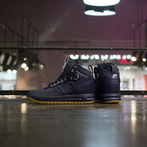 NIKE LUNAR FORCE 1 DUCKBOOT Dark Obsidian - Game Over Shop