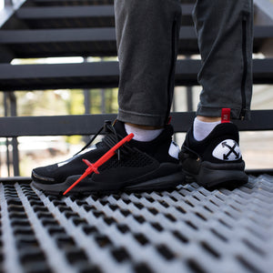 "Nike Sock Dart ""Off-White"" Total Black - Game Over Shop"