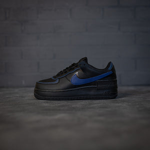 Nike Air Force 1 Low Shadow Black Blue - Game Over Shop