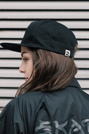 Game Over Tripple Black Basic Snapback - Game Over Shop
