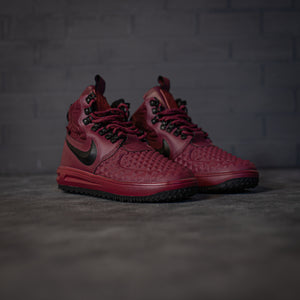 Nike Lunar Force 1 Duckboot All Red - Game Over Shop