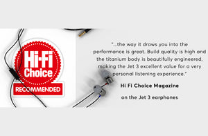 New JET Review! Hi-Fi Choice Recommended