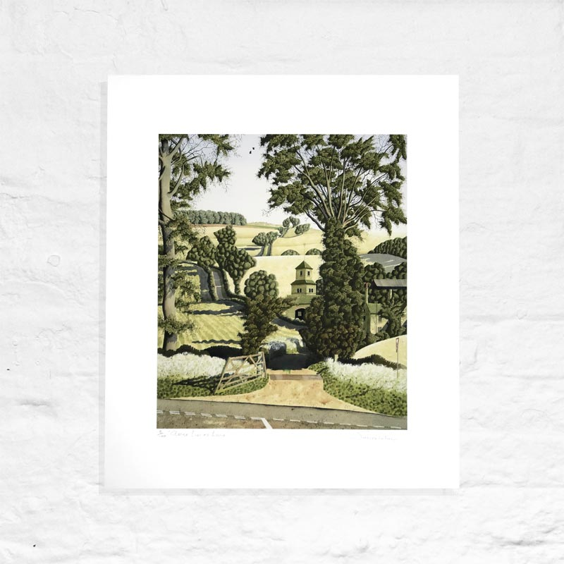 Anne Lace's Lane - Signed Limited Edition Print by Simon Palmer