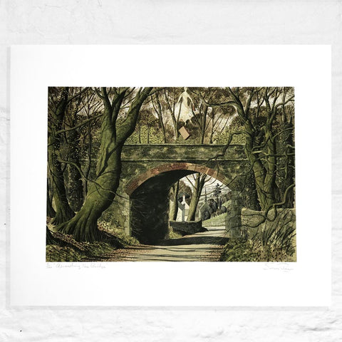 Ascending from the Bridge - Signed Limited Edition Print by Simon Palmer