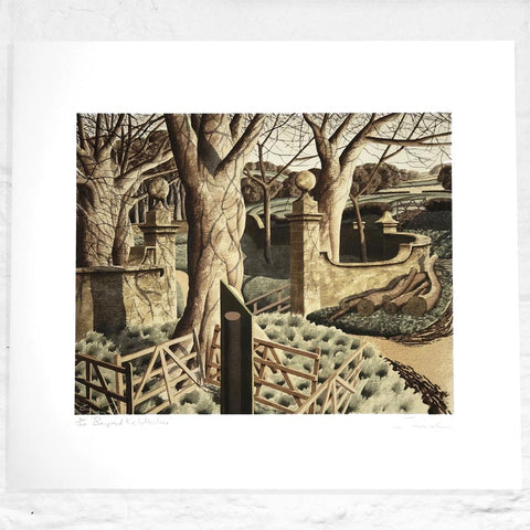 Beyond Keldhome - Signed Limited Edition Print by Simon Palmer