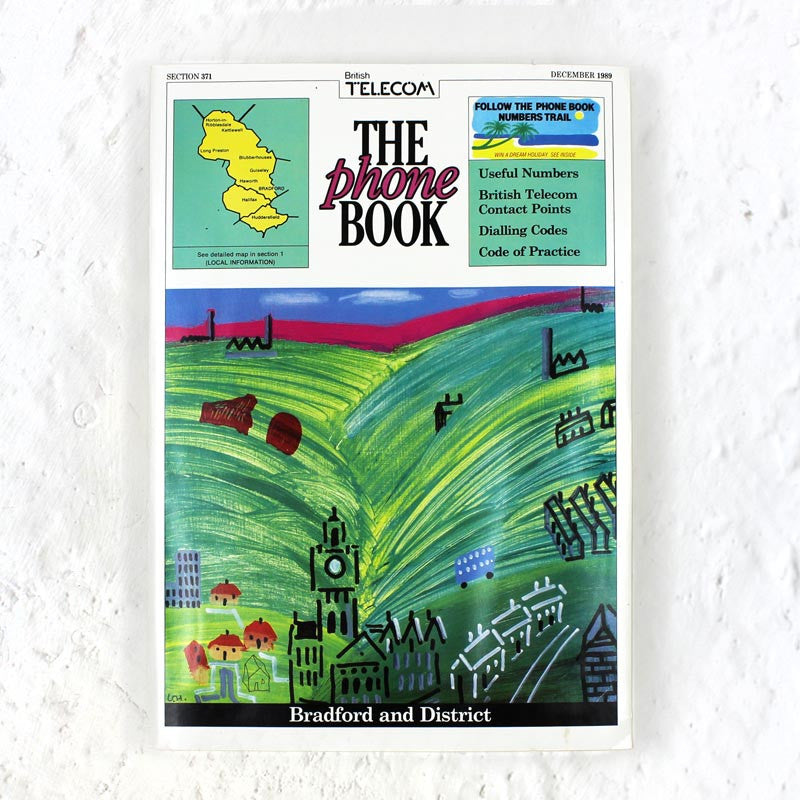 David Hockney Bradford & District Phone Book (1989)