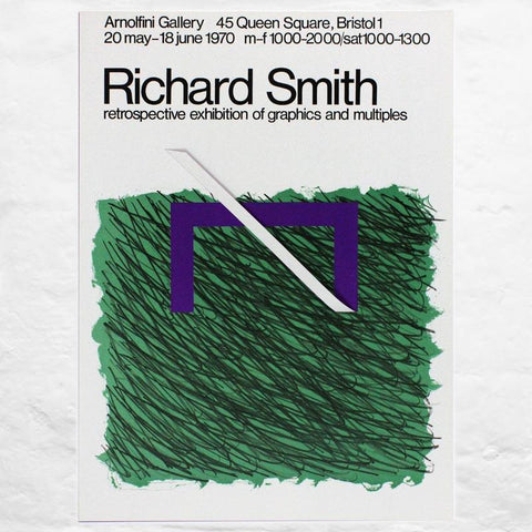Bramble 1970 Poster by Richard Smith (Arnolfini Gallery,1970)