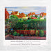 Bridlington Rooftops Poster by David Hockney