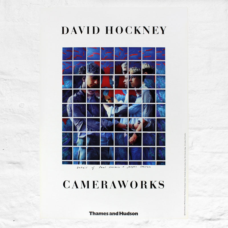 Cameraworks Original Poster by David Hockney