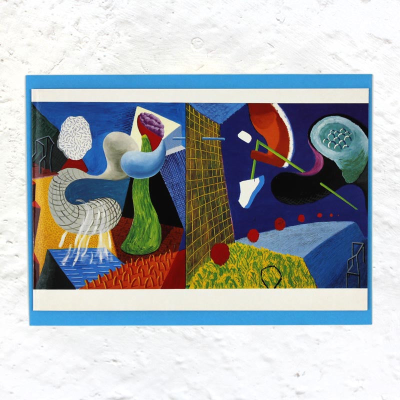 David Hockney Abstract Greetings Card Pack (x12)