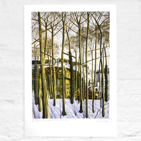 Delivering Some Relatively Good News - Signed Limited Edition Print by Simon Palmer