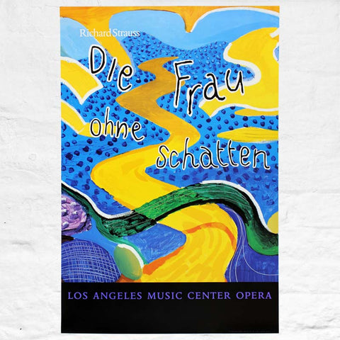 Die Frau Ohne Schatten (Los Angeles Music Center Opera) Poster by David Hockney
