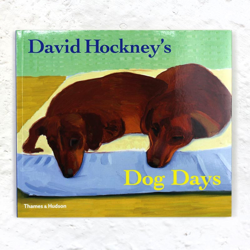 David Hockney's Dog Days book