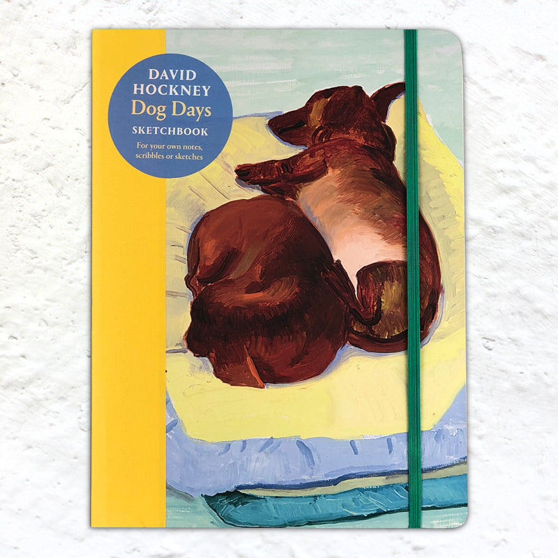 Dog Days by David Hockney - Sketchbook