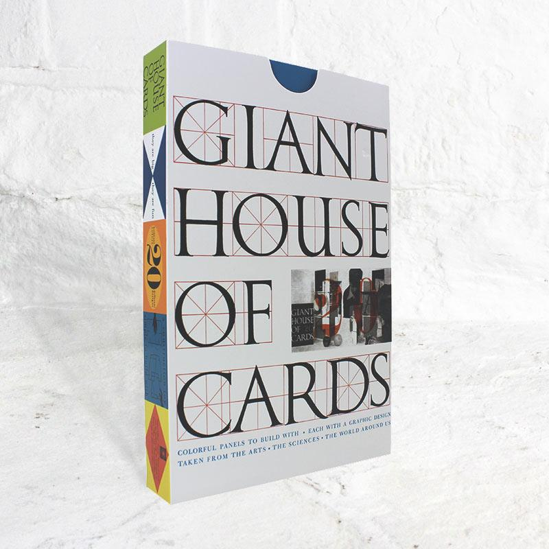 Eames House of Cards (Giant) by Charles and Ray Eames