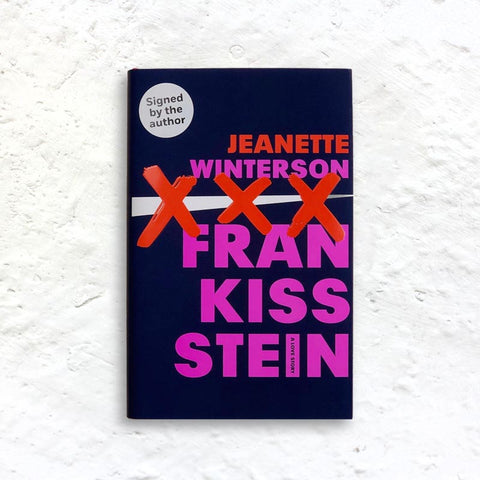 Frankissstein: A Love Story by Jeanette Winterson (signed 1st edition hardback)
