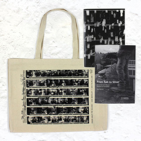 Ian Beesley and Ian McMillan Collection: Bag, Notebook and Poetry Book