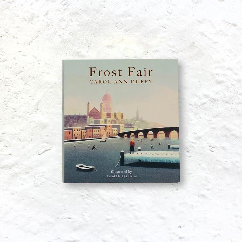 Frost Fair by Carol Ann Duffy (pocket-sized signed 1st edition hardback)