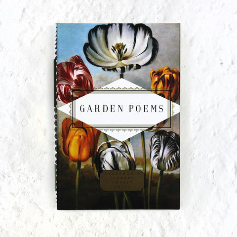 Garden Poems book