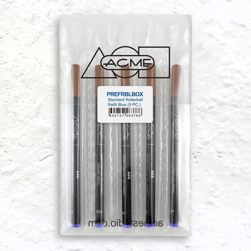 Acme Standard Rollerball Refill Blue (5 PC)