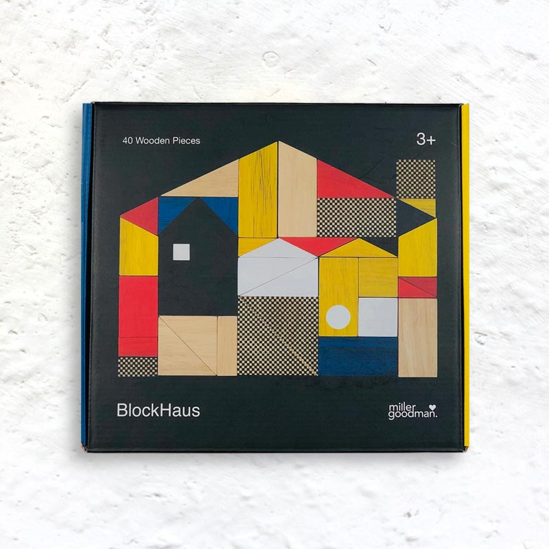 BlockHaus - building blocks inspired by the Bauhaus