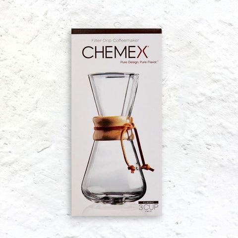 Chemex Coffee Maker (3 cup)