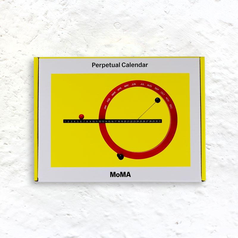 Perpetual Calendar (small) by Gideon Dagan for MoMA