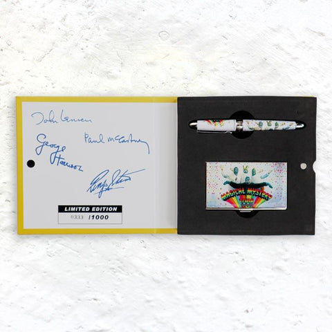 The Beatles Magical Mystery Tour Limited Edition Pen and Card Case (numbered edition of 1000)