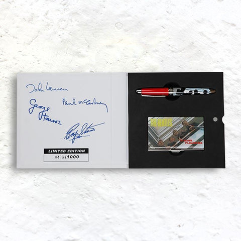 The Beatles Please Please Me Limited Edition Pen and Card Case (numbered edition of 1000)