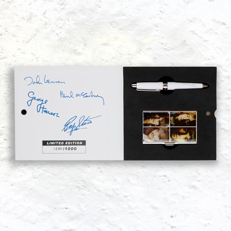 The Beatles The White Album Limited Edition Pen and Card Case (numbered edition of 1000)