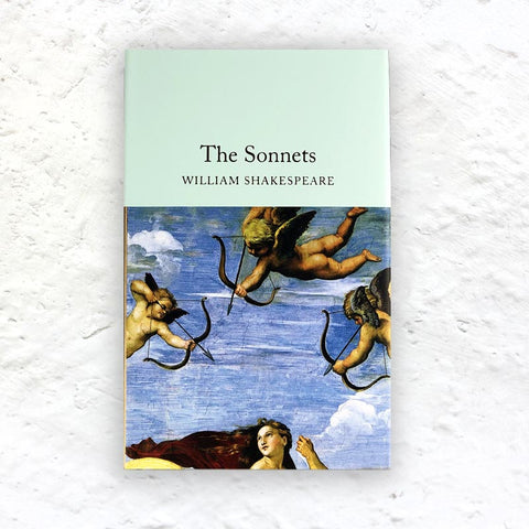 The Sonnets by William Shakespeare - small hardback (Macmillan Collector's Library Edition)