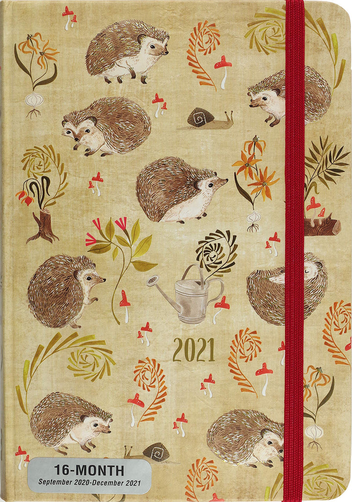 2021 Hedgehogs Weekly Planner Diary