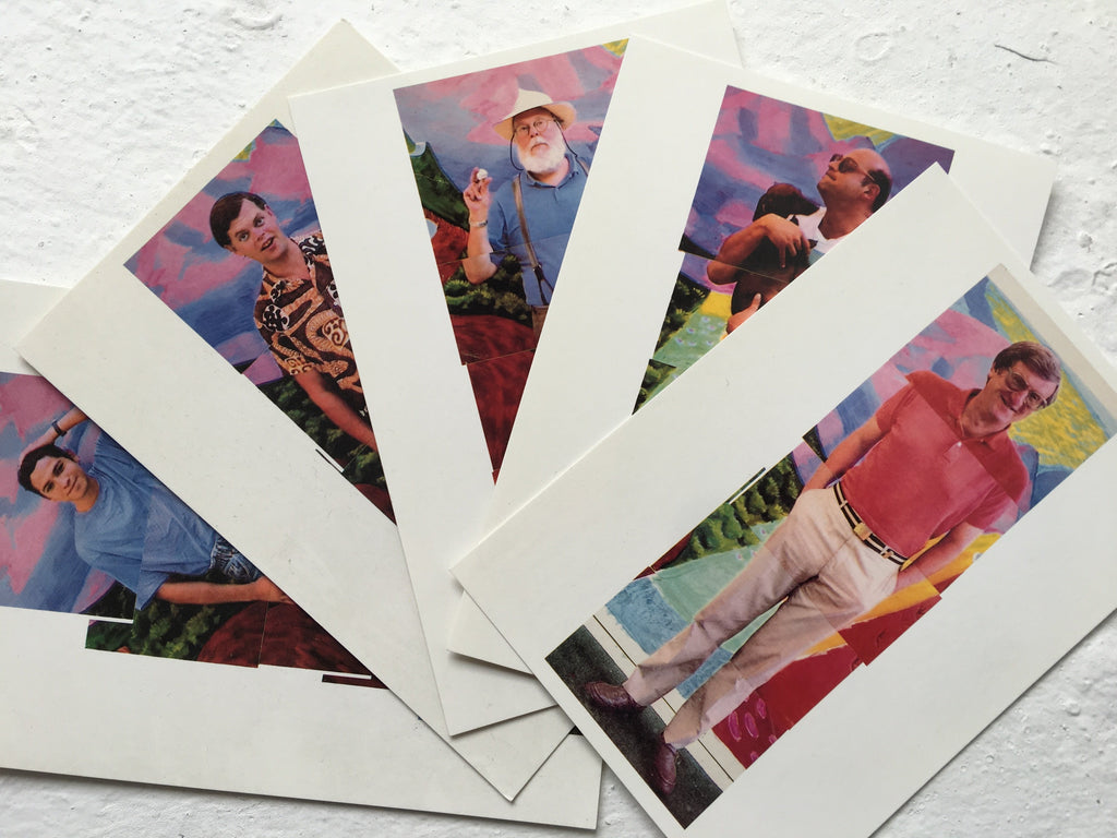 David Hockney New Electronic Snaps Postcard Collection (10 cards)