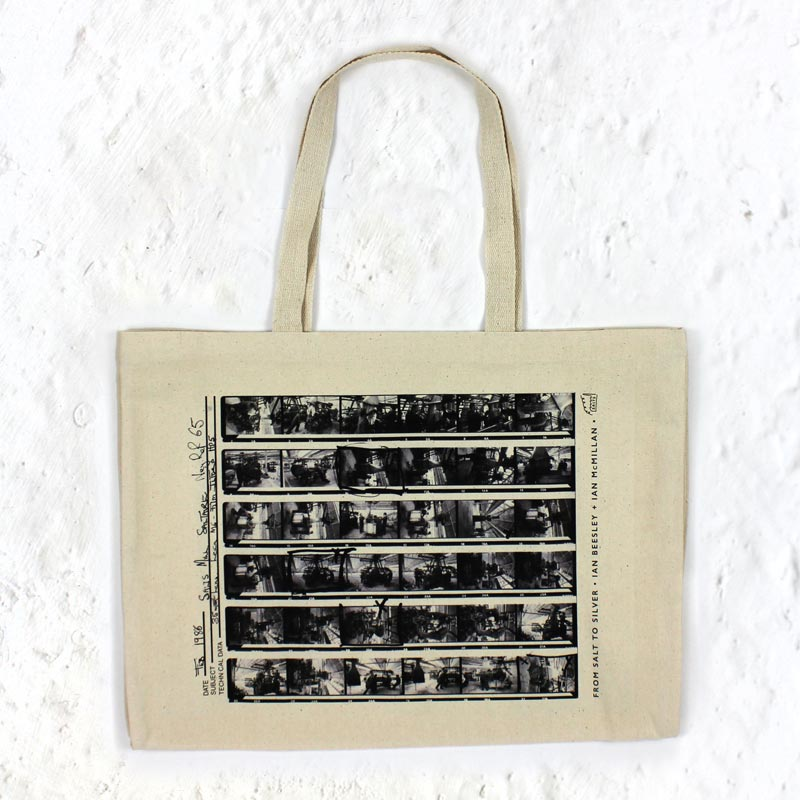 Contact Sheet Supersize Tote by Ian Beesley and Ian McMillan