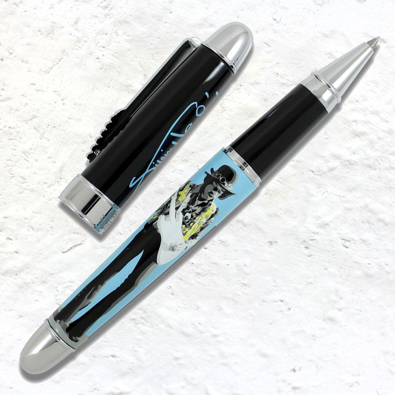 Jimi Hendrix Rollerball pen and pin set (limited edition of 1000)