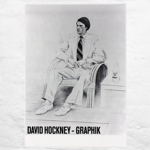 Joe McDonald 1976 (Kunstverein Braunschweig 1979) poster by David Hockney