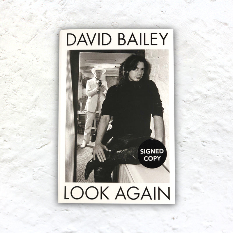 Look Again by David Bailey - signed 1st edition hardback