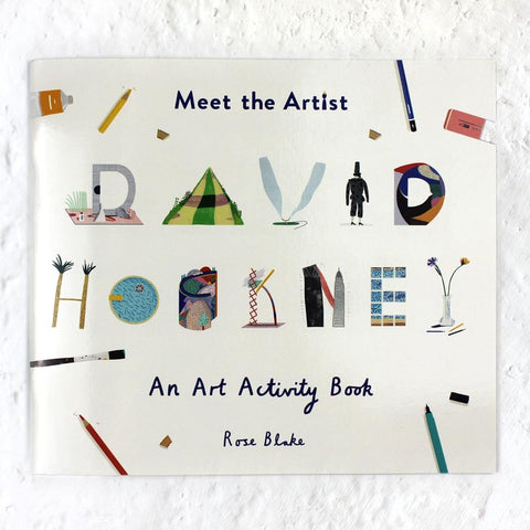 Meet The Artist: David Hockney - An Art Activity Book
