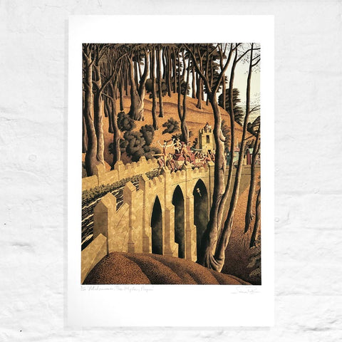 Midsummer: The Mystery Players - Signed Limited Edition Print by Simon Palmer