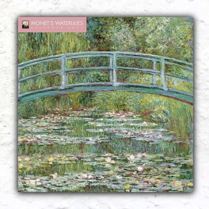 Monet's Waterlilies Calendar 2021